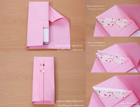 Another DIY Hanbok Party Favor Box Gift Wrap