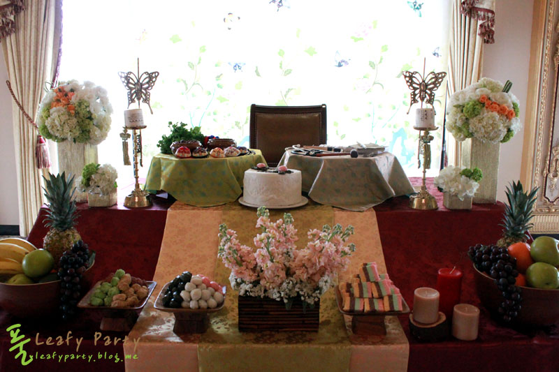 The Traditional Dol Set Up Korean 1st Birthday