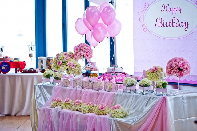 Interesting Birthday Table Set Up Pictures Best Image Home