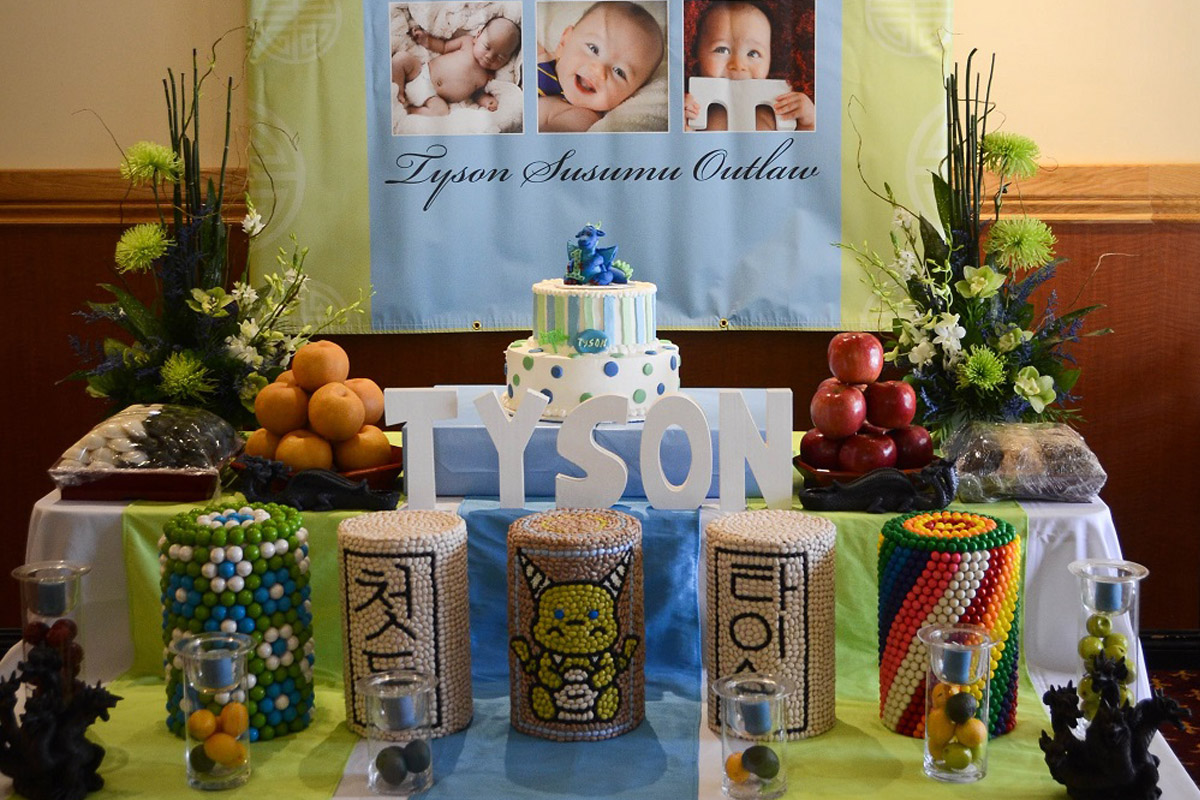 Tyson's 1st Birthday