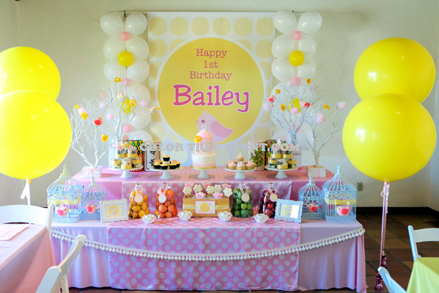 Bailey's 1st birthday