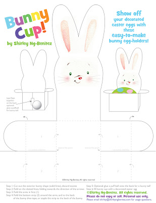 Rabbit Party Favor Box