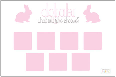 Pink Rabbit Doljabi Board