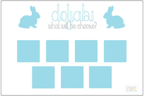 Blue Rabbit Doljabi Board